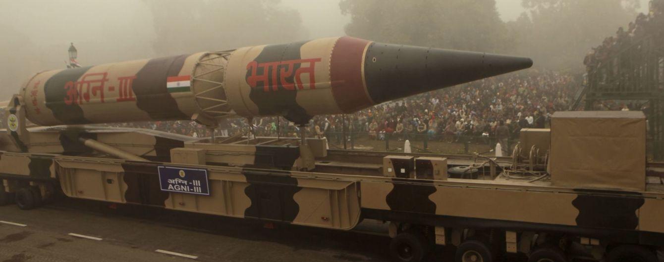 Индия испытала баллистическую ракету, которая способна нести ядерную боеголовку