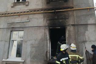 В Днепропетровской области загорелся мужской монастырь