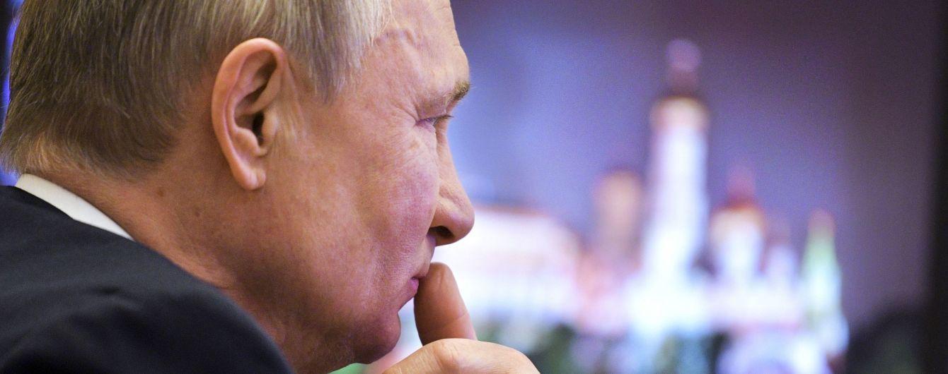 """Путін заявив, що """"людство знову опинилося біля небезпечної межі"""""""