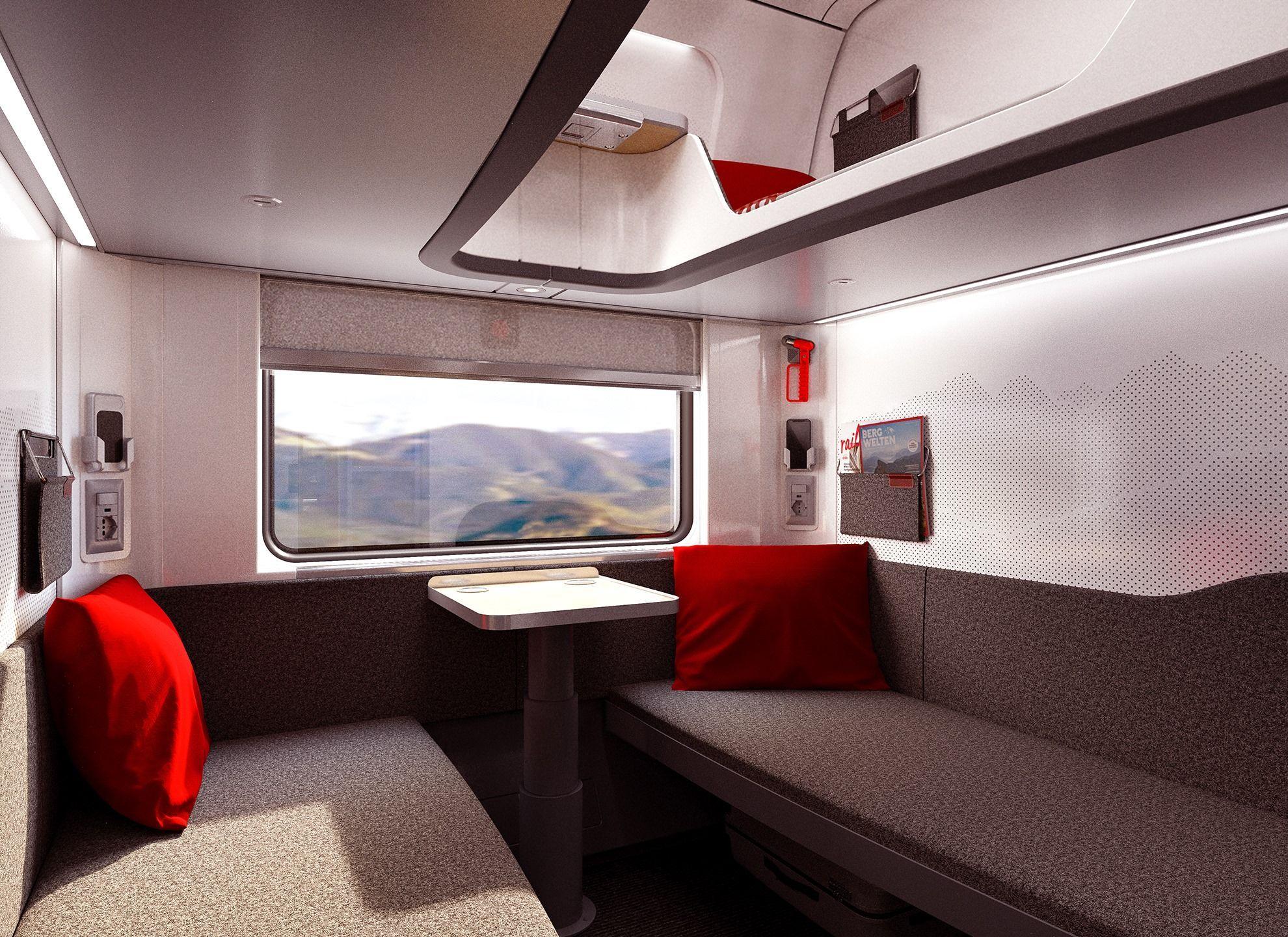 ночной поезд ÖBBкомпании Nightjet, Федеральные железные дороги Австрии