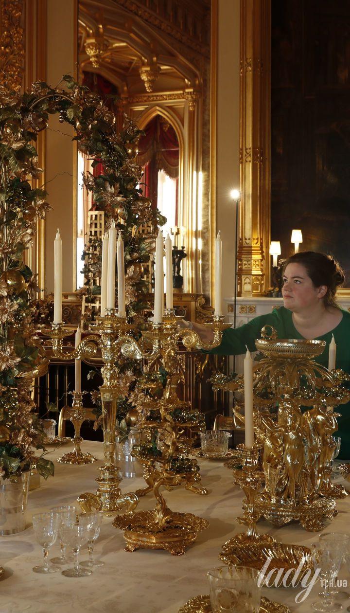 Виндзорский замок. Рождество