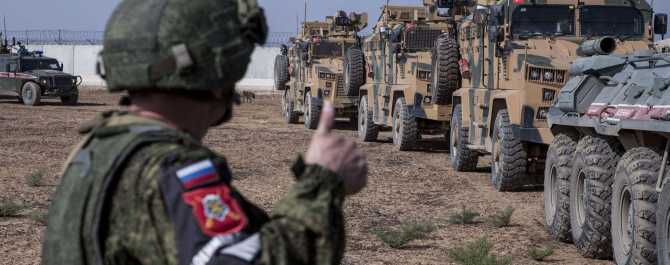 В Сирии на самодельной взрывчатке подорвались трое российских военных