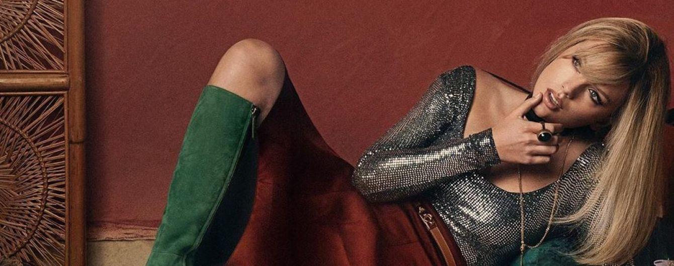 Ефектна Тейлор Свіфт прикрасила обкладинку британського Vogue