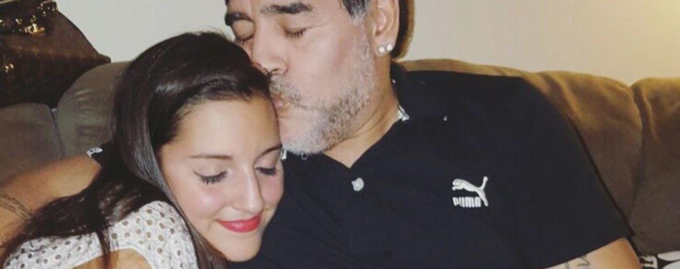 Дочь Марадоны стала моделью бренда нижнего белья