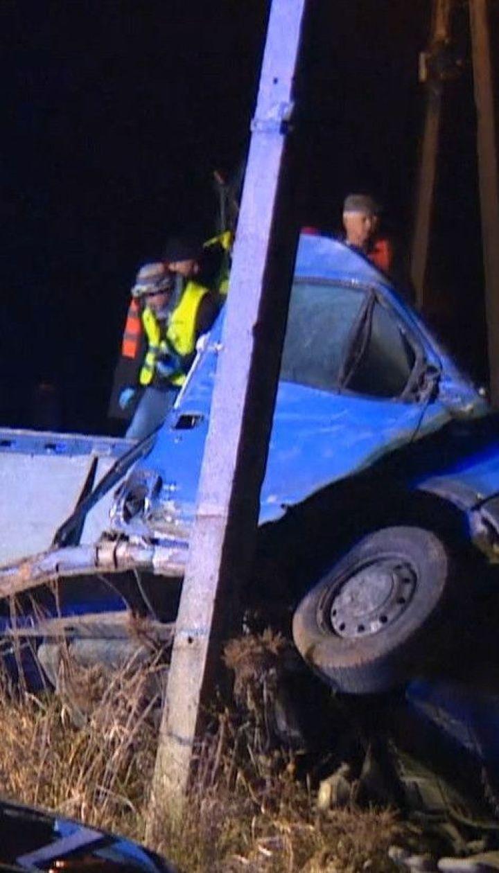 Потяг збив фургон з українцями у Польщі – двоє людей зазнали травм