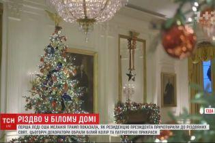 Первая леди США показала, как украсили резиденцию американского президента