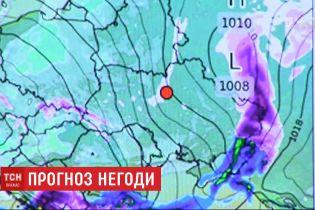 Зима нарешті в Україні: синоптики пообіцяли мокрий сніг та ожеледицю
