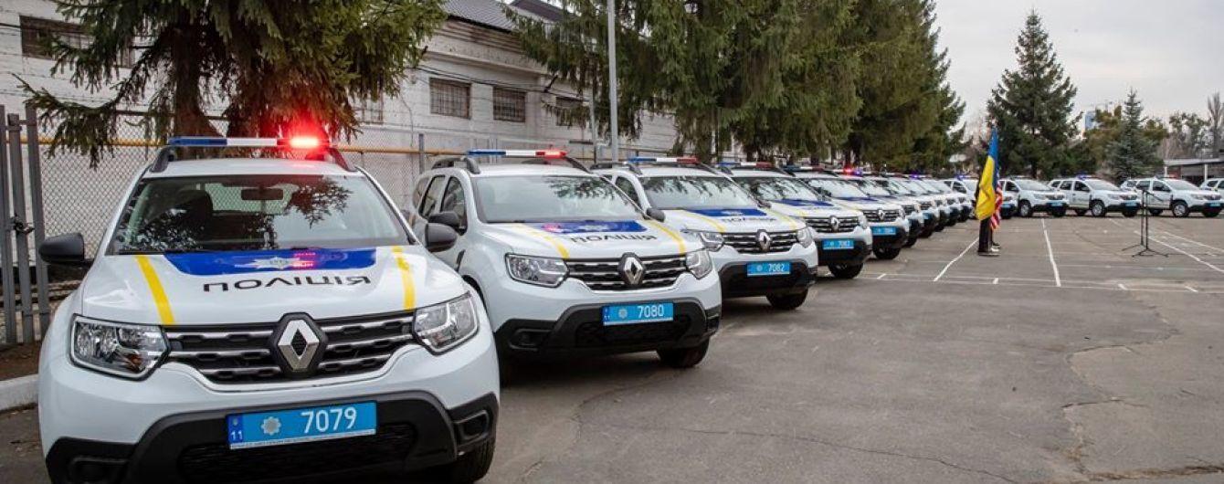 Автопарк Нацполіції поповнився майже сотнею нових автівок