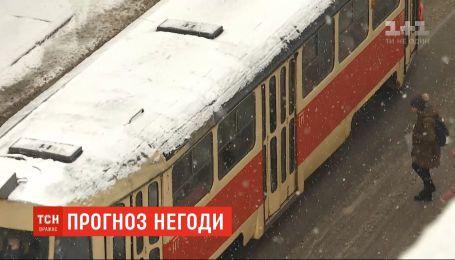 Украину притрусило снегом - водителей призывают быть внимательными и осторожными