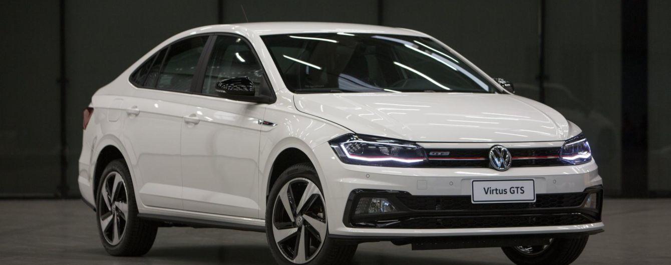 """Volkswagen представил """"заряженное"""" Polo"""