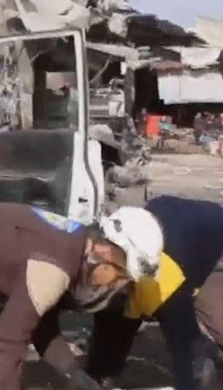 Турецкие военные обстреляли сирийский город Таль-Рифат: по меньшей мере 11 человек погибли