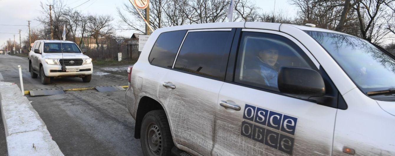 Боевики уже четвертый день не допускают миссию ОБСЕ к участку разведения возле Петровского