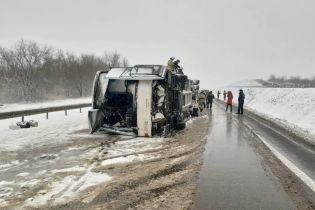 Опрокидывание автобуса с украинцами в России: МИД уточнил количество раненых