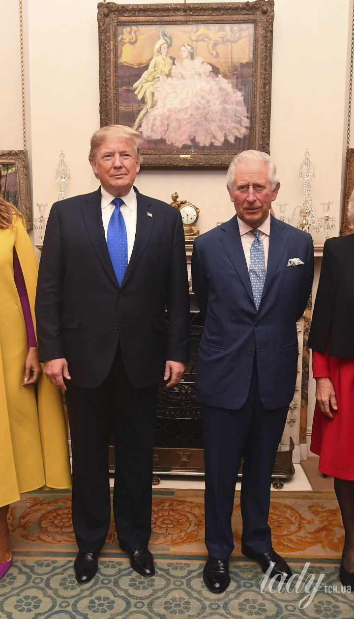 Мелания и Дональд Трамп, принц Чарльз и герцогиня Камилла