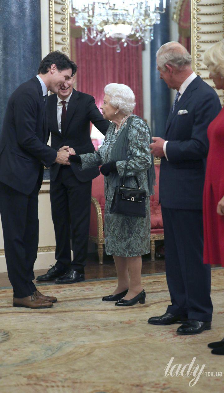 Прием в Букингемском дворце