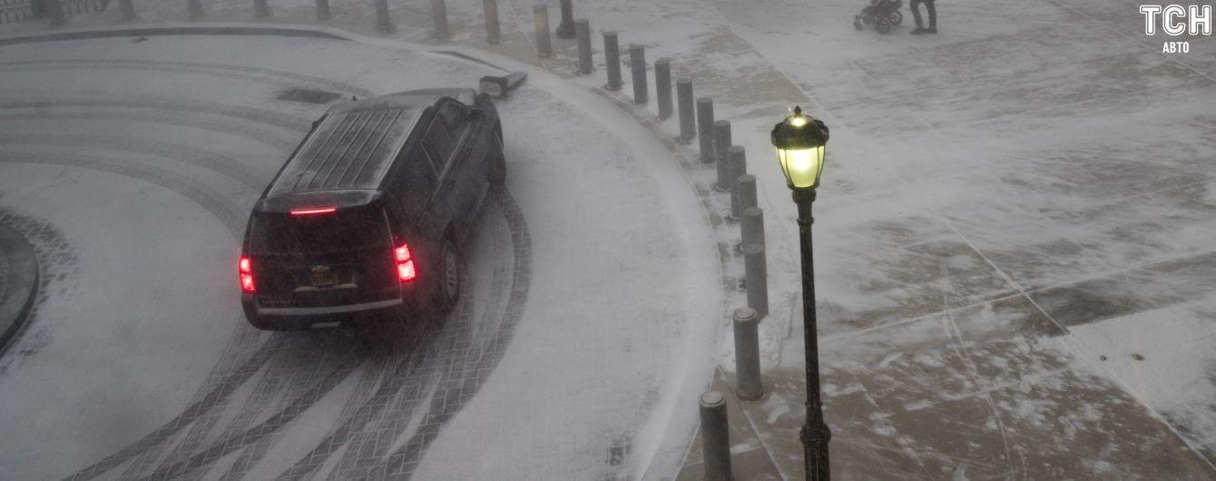 Засніженість і ожеледиця на дорогах. Які області особливо небезпечні для поїздок