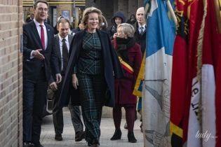 Як завжди, елегантна: королева Матильда на діловому заході