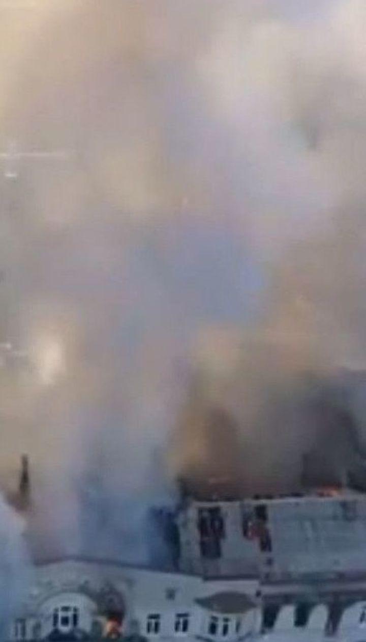 Пожежа в одеському коледжі: кількість потерпілих зросла до 21