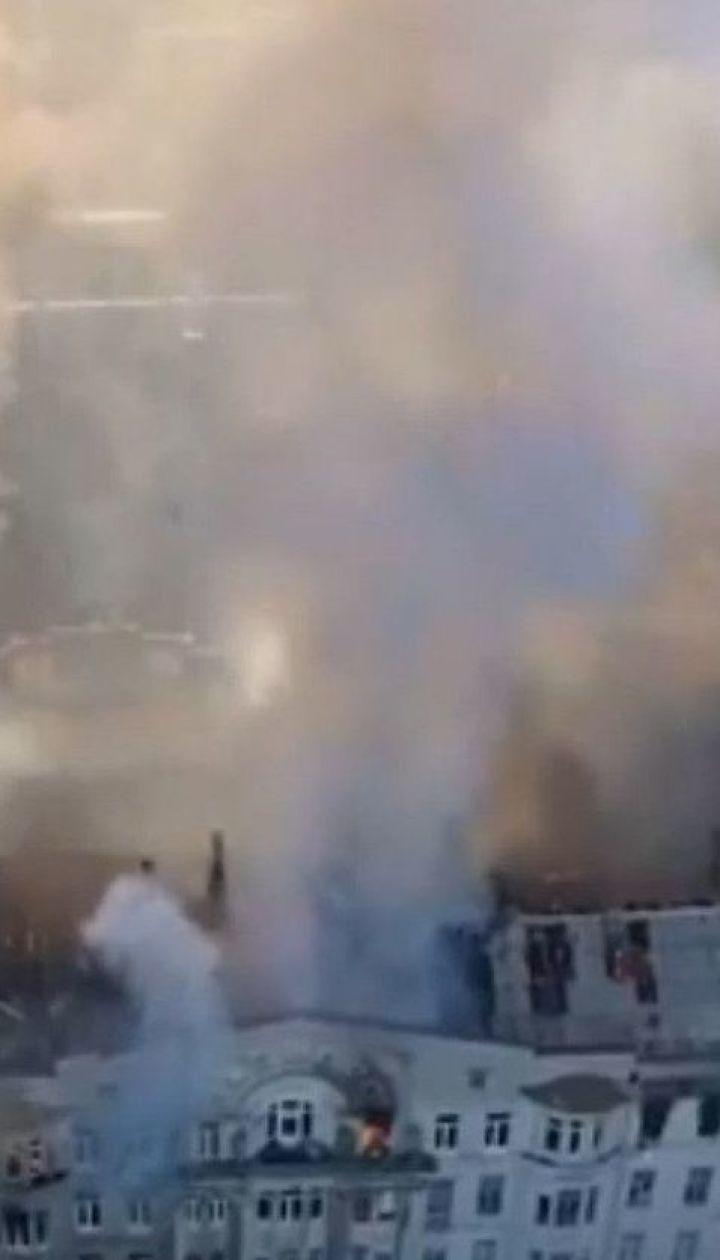 Пожар в одесском колледже: число пострадавших возросло до 21