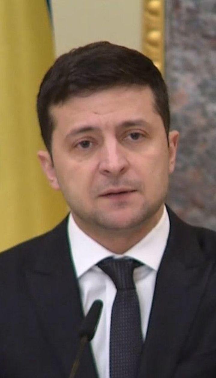 """Зеленський назвав питання, які хоче вирішити під час зустрічі лідерів """"нормандської четвірки"""""""