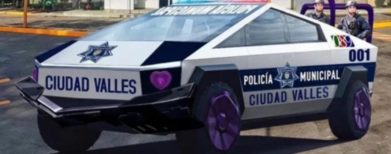 Партию пикапов Tesla забронировали для полиции Мексики