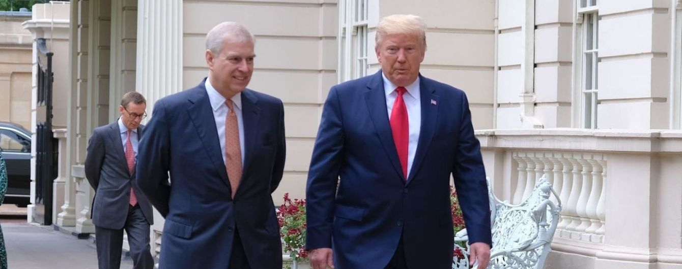 Секс-скандал в монаршей семье. Трамп отрицает знакомство с принцем Эндрю – фото говорят об обратном