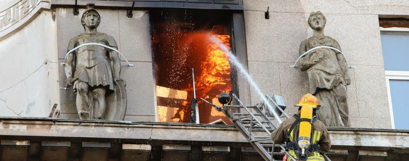 В результате пожара в Одессе погибла 17-летняя девушка. Преподавательница, которую считали погибшей, жива