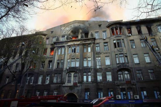 Коледж в Одесі не перевіряли п'ять років. В уряді анонсували протипожежні перевірки у всій Україні