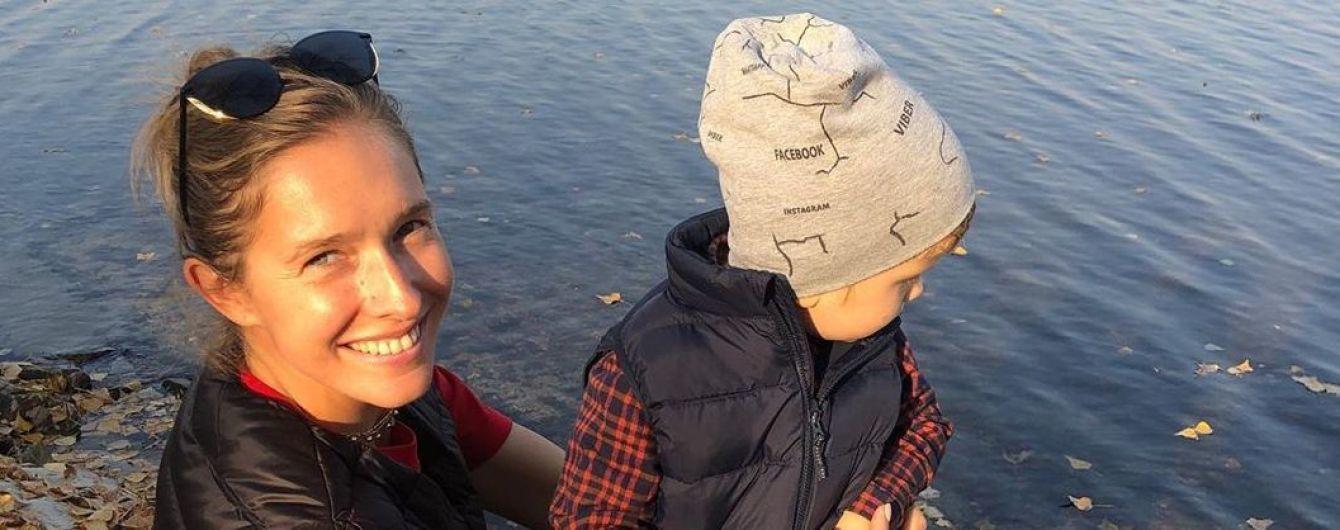 Які милі: Катя Осадча поділилася новим фото з сином