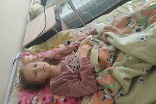 Життя Анюти залежить від дорогого і своєчасного лікування