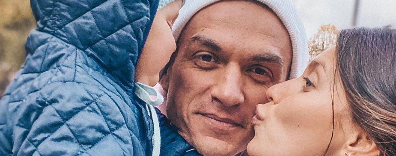Регина Тодоренко и Влад Топалов трогательно поздравили сына с первым днем рождения