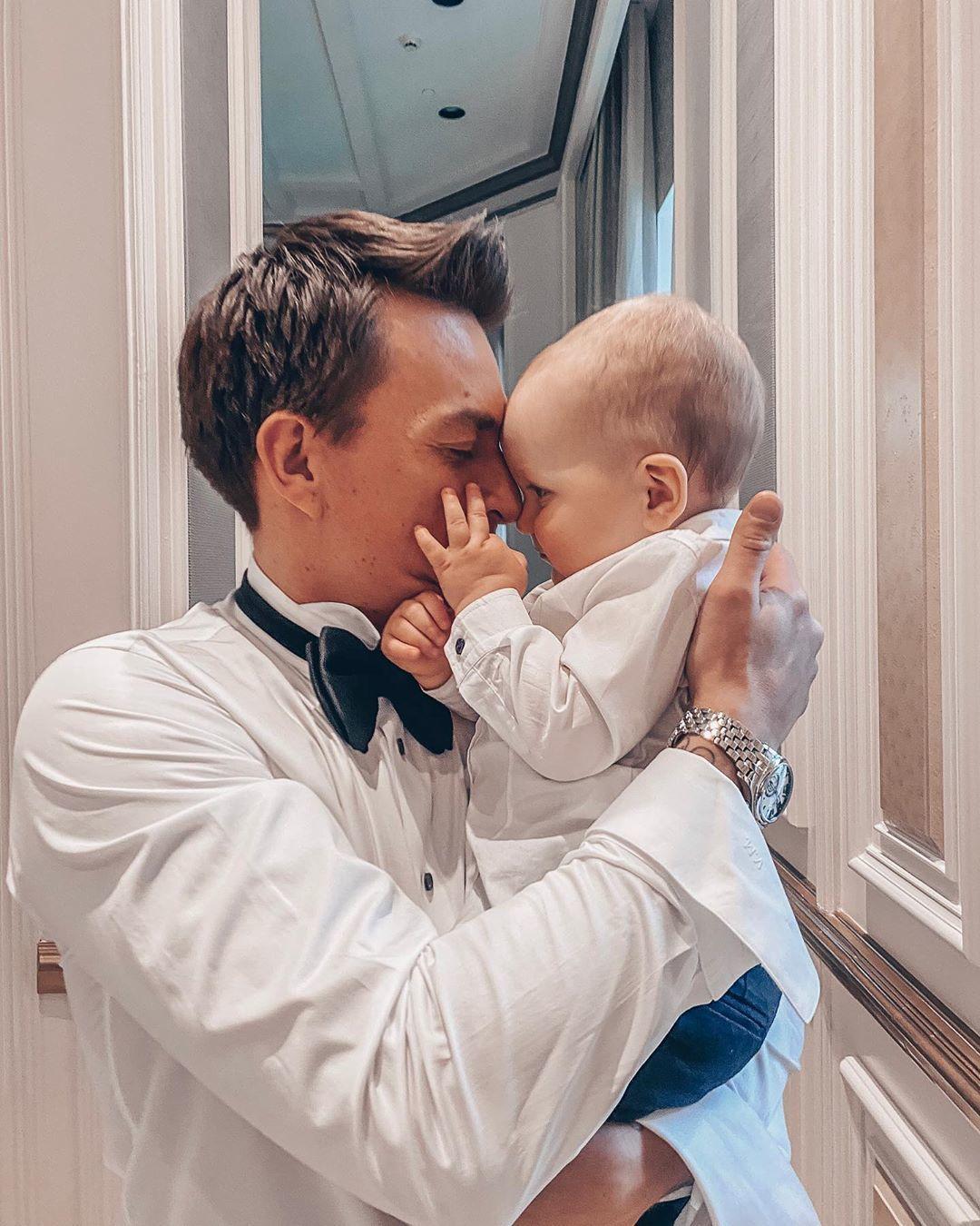 Влад Топалов з сином