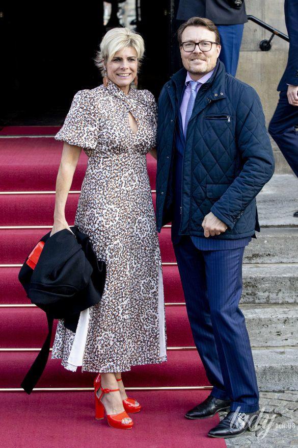 Принцесса Лаурентин и принц Константин