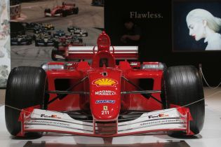Чемпионский болид Шумахера на аукционе продали почти за семь миллионов долларов