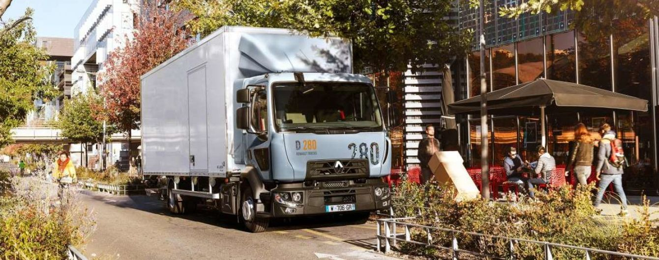 Renault обновила свои электрические грузовики