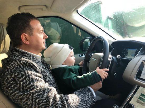 Юрій Горбунов поміркував, чи хоче, щоб його з Осадчею син Івасик став актором