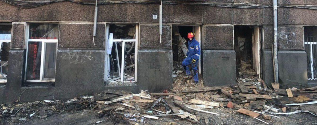 Под обломками сгоревшего здания колледжа в Одессе обнаружили тело второй жертвы