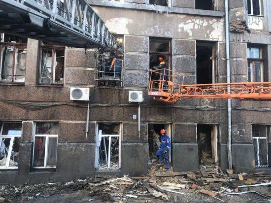 Під уламками будівлі згорілого коледжу в Одесі виявили тіло другої жертви