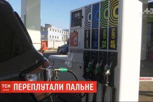 17 патрульних автівок вийшли із ладу через плутанину з пальним на АЗС Миколаєва