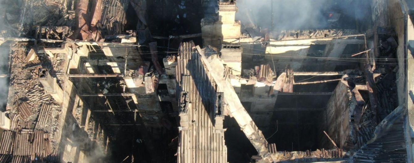 Пожар в колледже Одессы: установлена личность третьей погибшей