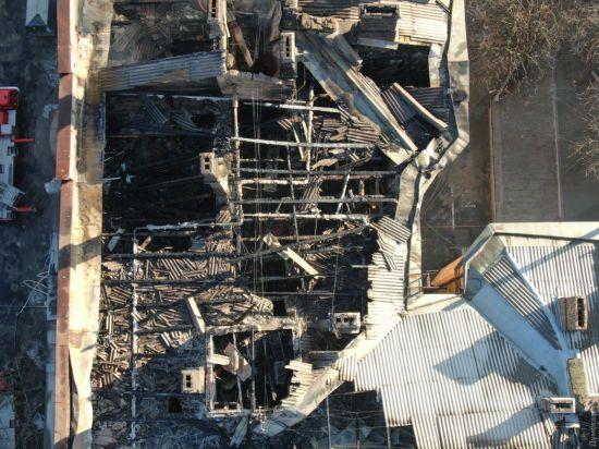 Пожежі в коледжі Одеси надали статус надзвичайної ситуації в регіоні