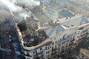 Пожежа в коледжі Одеси. Рятувальники знайшли ще два тіла під завалами