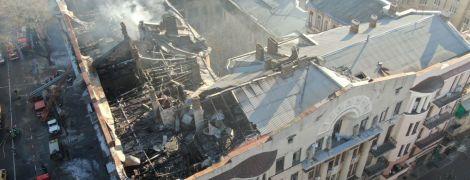 Украшенный лепниной и статуями, построенный за средства местного купца. Что известно о здание сгоревшего колледжа в Одессе
