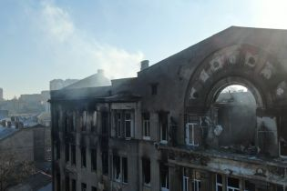 После пожара в колледже Одессы уволен глава ГСЧС области и его заместителя