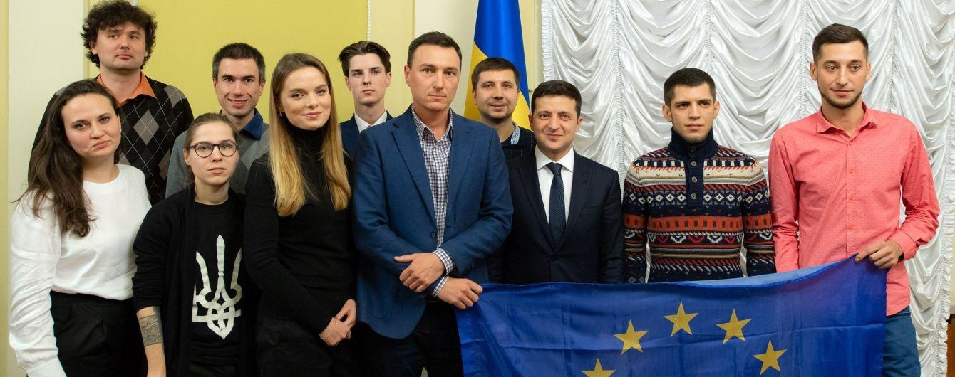 Зеленский встретился с организаторами Евромайдана 2013 года