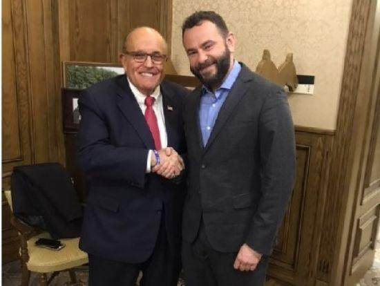 Дубінський зустрівся з адвокатом Трампа Джуліані