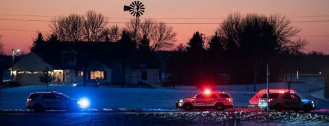 В Миннесоте упал вертолет Нацгвардии США с военными на борту