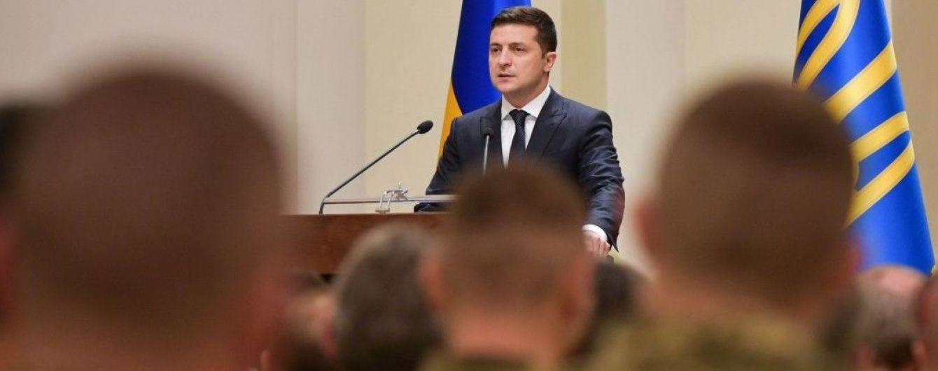 Зеленский в видеообращении поздравил украинских военных с Днем Вооруженных Сил