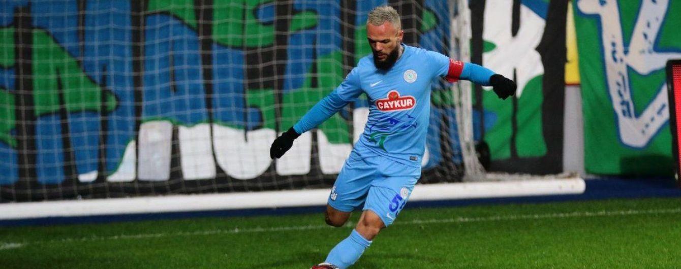 Экс-динамовец Морозюк отметился дебютным голом за турецкий клуб