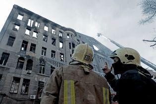 Пытались уничтожить документы проверки сгоревшего колледжа: СБУ провела обыски в одесской ГСЧС